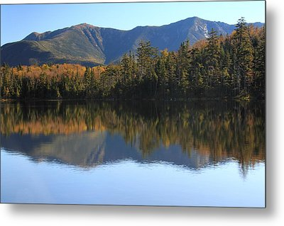 Franconia Ridge From Lonesome Lake Metal Print by Roupen  Baker