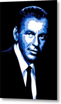 Frank Sinatra Metal Print by DB Artist