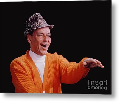 Frank Sinatra Promotional Photo From 1964 Metal Print by The Titanic Project