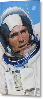 Fred Haise Metal Print by Simon Kregar