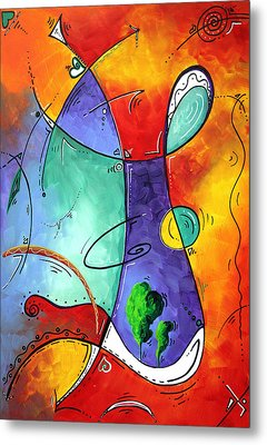 Free At Last Original Art By Madart Metal Print