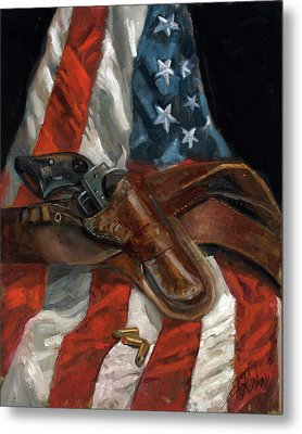 Freedom Metal Print by Billie Colson