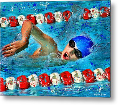 Freestyle Metal Print by Stephen Younts