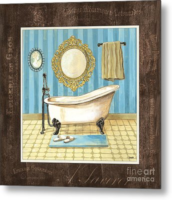 French Bath 1 Metal Print by Debbie DeWitt