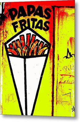 French Fries Santiago Style  Metal Print