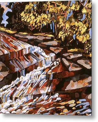 Frenchtown Creek Metal Print
