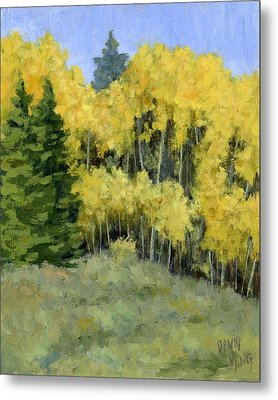 Fresh Autumn Air Metal Print by David King