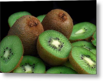 Fresh Kiwi Metal Print by Terence Davis