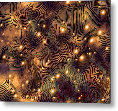 Freshwater Metal Print by Susan  Epps Oliver