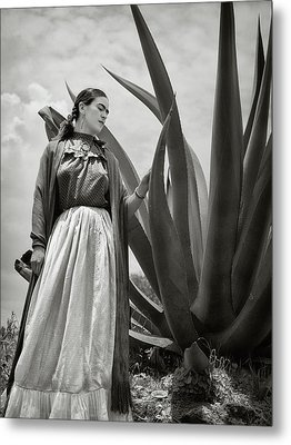 Frida Kahlo 1937 Metal Print
