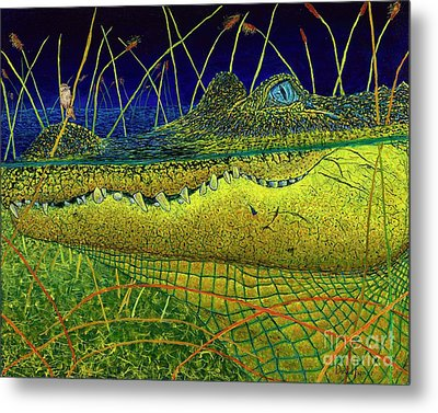 Swamp Gathering Metal Print by David Joyner