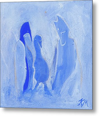 Friends Of The Light Metal Print by Kate Maconachie