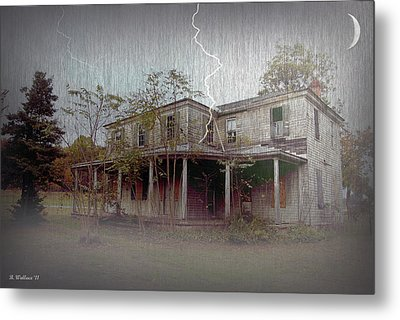 Frightening Lightning Metal Print by Brian Wallace