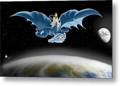 From Heaven To Earth Came Metal Print by Devaron Jeffery
