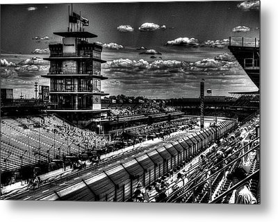From The Hulman Suites  Metal Print by Josh Williams