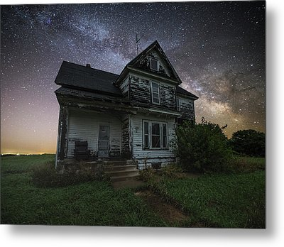 Metal Print featuring the photograph Front Porch  by Aaron J Groen