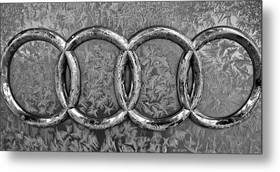 Frosty Audi Metal Print by Catherine Melvin