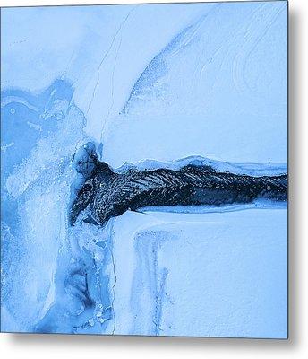 Frozen Estuary Metal Print by Tor-Ivar Naess