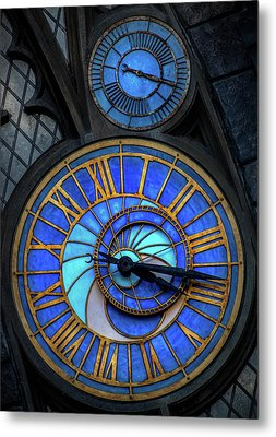 Frozen In Time  Metal Print by Luis Rosario