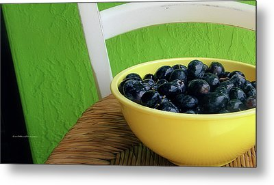 Fruit Art 11 Metal Print