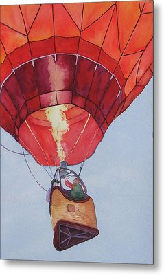 Full Of Hot Air Metal Print by Judy Mercer