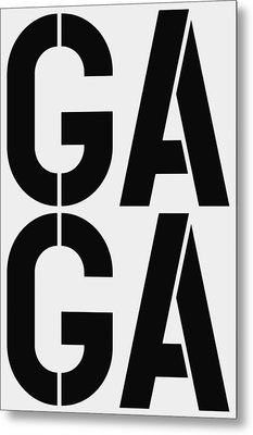 Gaga Metal Print by Three Dots