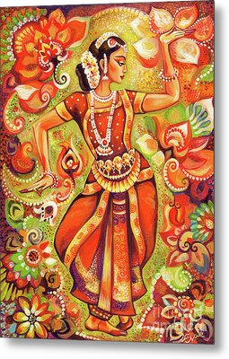 Ganges Flower Metal Print