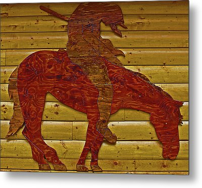 Metal Print featuring the photograph Garage Decoration by Tammy Sutherland