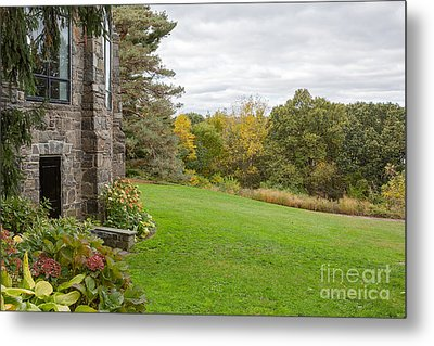 Garden Countryside  Metal Print by A New Focus Photography