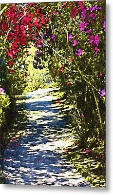 Metal Print featuring the photograph Garden by Donna Bentley
