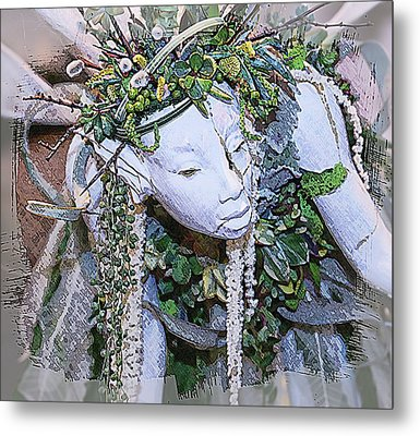 Garden Fairy Metal Print by Patrice Zinck