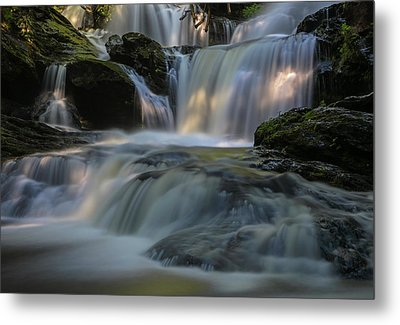 Metal Print featuring the photograph Garwin Falls  by Juergen Roth