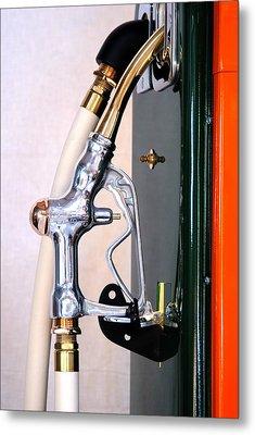 Gas Pump Handle Metal Print