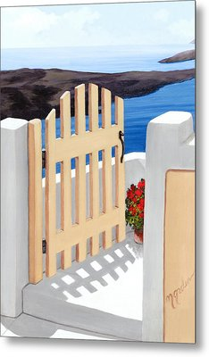 Gateway To The Sea - Prints From My Original Oil Painting Metal Print