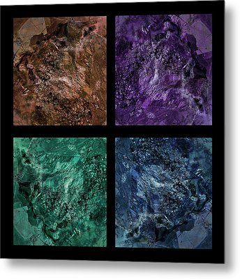 Gem 1 Squared Metal Print by Sean Holmquist
