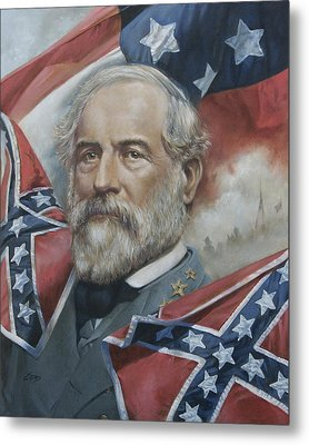 General Robert E Lee Metal Print