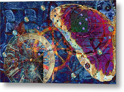 Geometria Sagrada Metal Print by Kenneth Armand Johnson