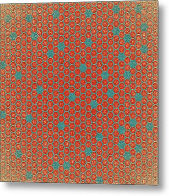 Metal Print featuring the digital art Geometric 1 by Bonnie Bruno