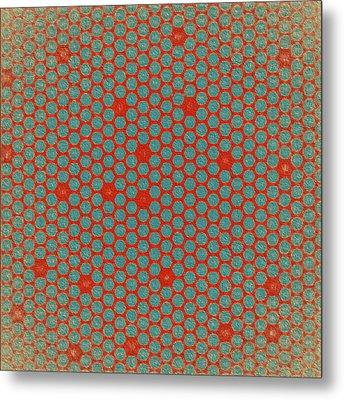 Metal Print featuring the digital art Geometric 2 by Bonnie Bruno