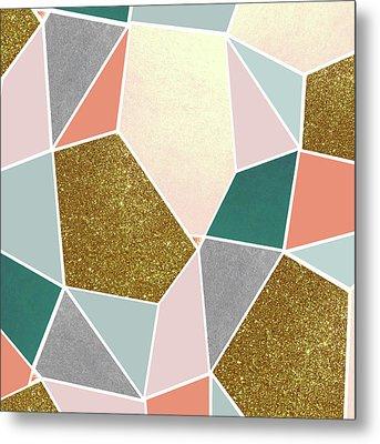Geometric Metal Print by Uma Gokhale