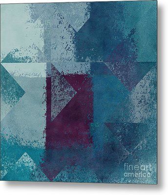 Geomix 03 - S122bt2a Metal Print by Variance Collections