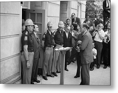 George C. Wallace Metal Print by Granger