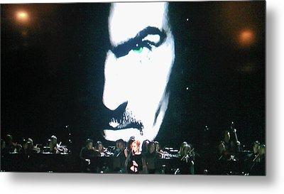 George Michael's Eye Appeal Metal Print by Toni Hopper