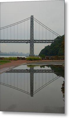 George Washington Bridge Metal Print by Steven Richman