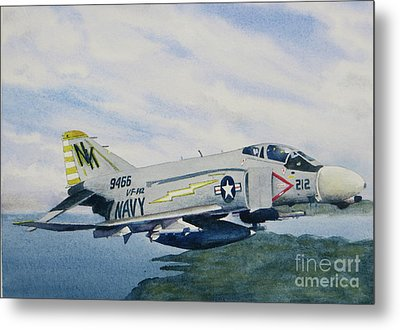 George's Fighter Plane Metal Print