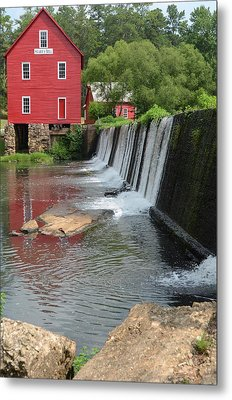 Metal Print featuring the photograph Georgia Mill by Margaret Palmer