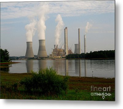 Georgia Power Plant Metal Print