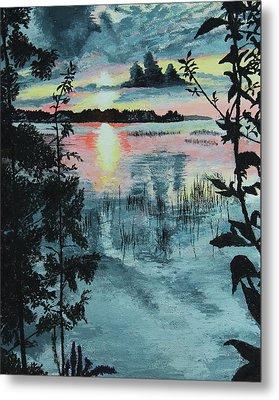 Georgian Bay Sunset Metal Print