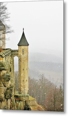 Germany - Elbtal From Festung Koenigstein Metal Print by Christine Till