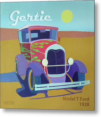 Gertie Model T Metal Print